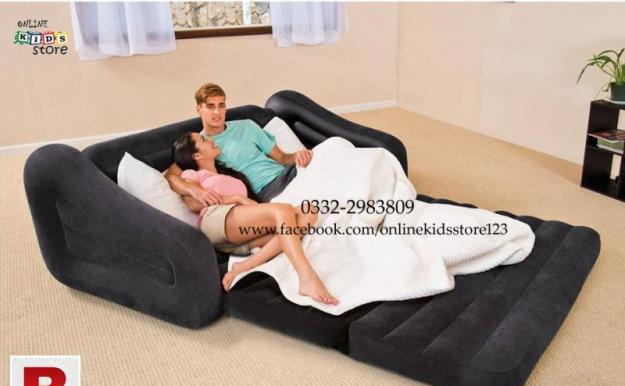 Intex pull out sofa inflatable bed 76 x 87 x 26