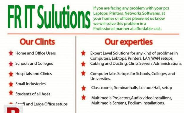 It solutions, computers, repairs, it equipment