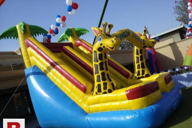 Jumping castle or bouncing castle