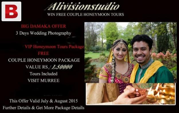 Lahore wedding digital album alivisionstudio