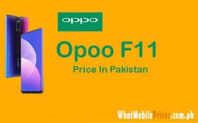Latest oppo f11 price in pakistan