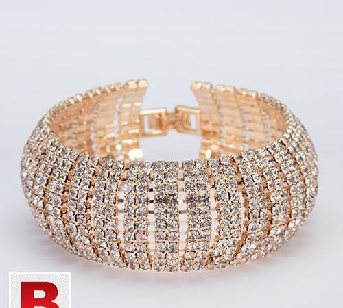 Luxury crystal bracelets for women bracelets & bangles