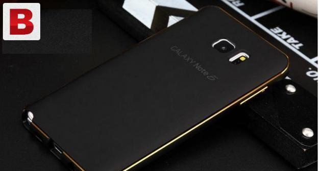 Luxury metal bumper case for note 5 note 4