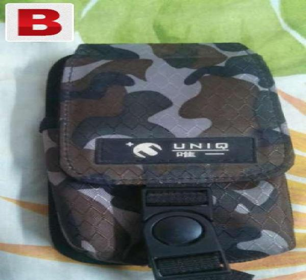 Military camouflage mobile belt pouch