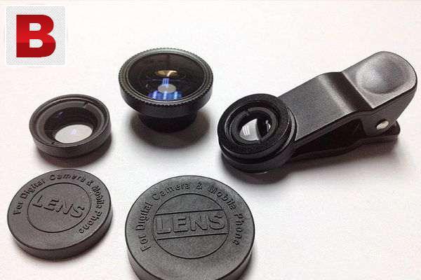 Mobile camera lenses