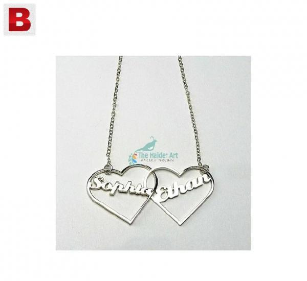 Name necklace,personal necklace, couple necklace, wedding