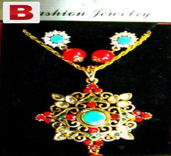 Necklace kundan