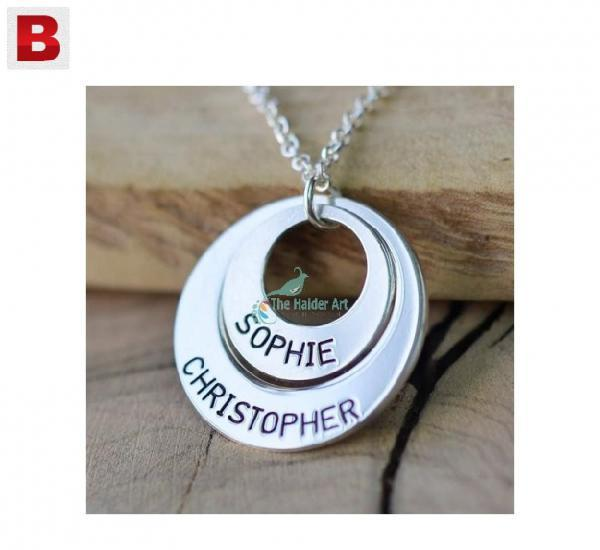 Necklace, name necklace, personal necklace, gift for him,