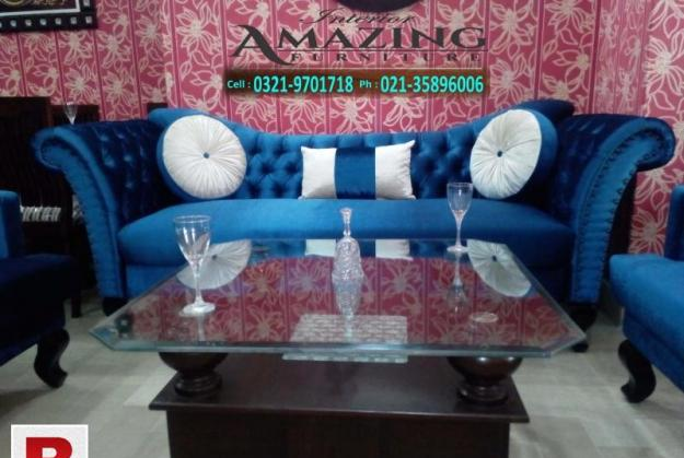 New classic sofa | seven seater | peacock design | imported