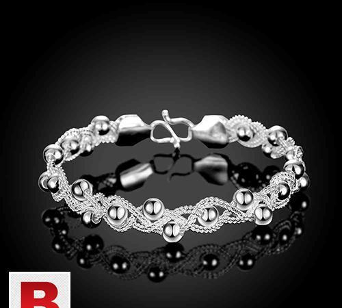 New design stylish silver bracelets, bangles