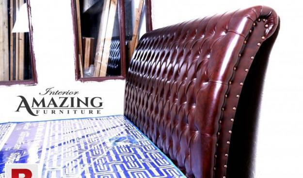 New full cushion bed king size without matress   imported