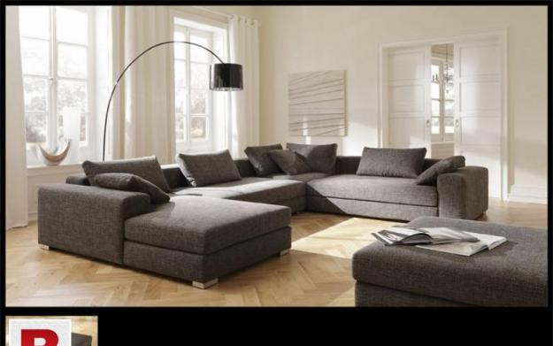 New sofa u shape corner style | eight seater without puffy