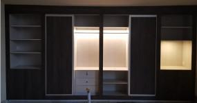 New style high gloss wardrobe in pakistan