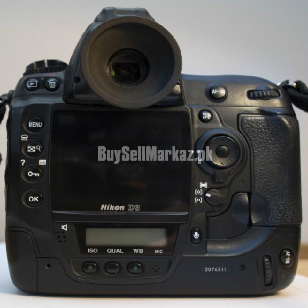Nikon d3 12.1mp digital slr camera (boxed)