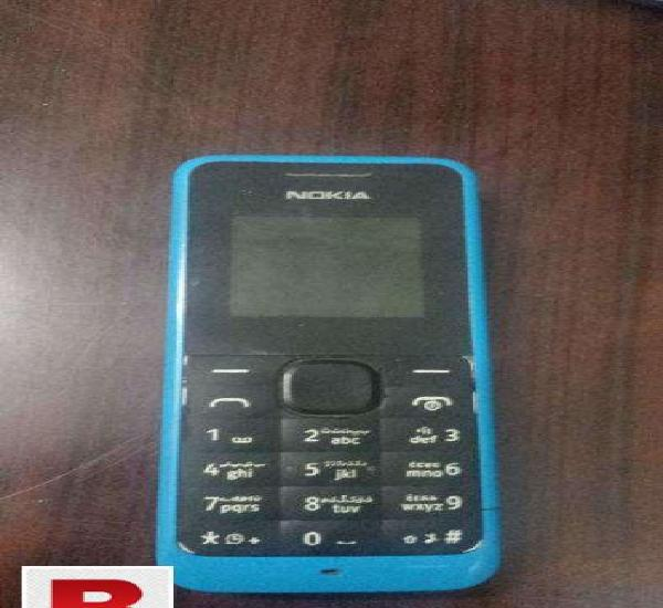 Nokia 105 dead set with battery