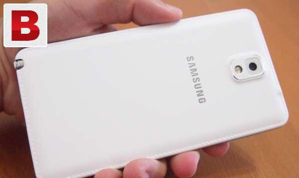 Note 3 white 3g 4g spoted