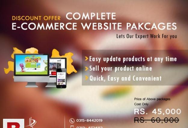 Online shop e-commerce websites development