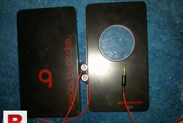 Original audio beats handfree (beats.by dr.dre) monster m3