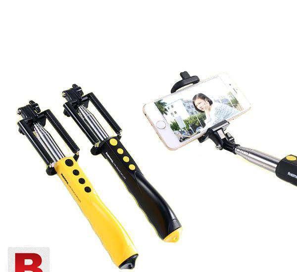 Original remax rp p2 bluetooth selfie stick foldable monopod