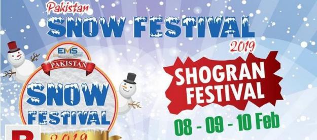 Pakistan snow festival 2019! 8 feb – 10 feb