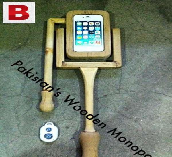 Pakistan's wooden monopod