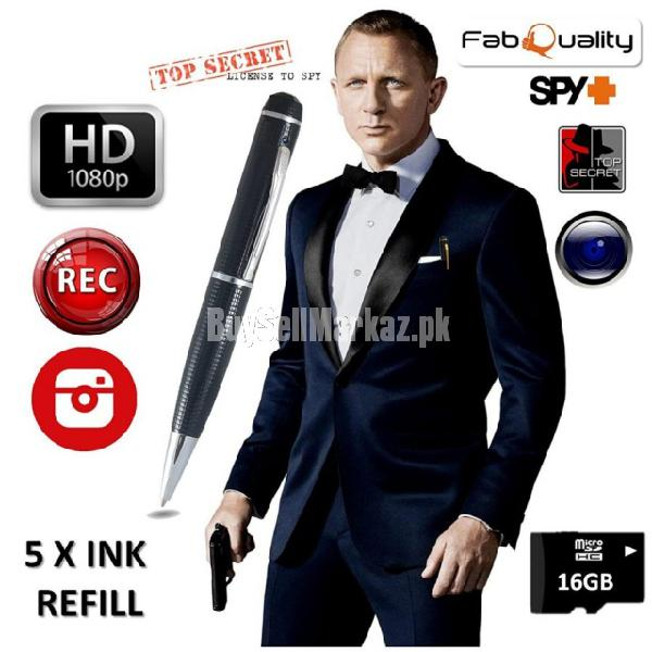Pen Camera Spy HD in Lahore in Faisalabad CAL 03224601855