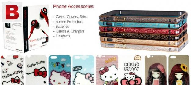 Premium mobile phone accessories for iphone & samsung galaxy