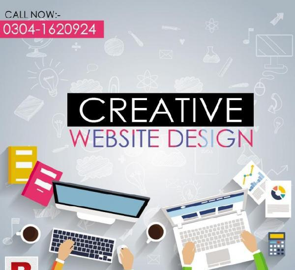 Professional & creative website design and development