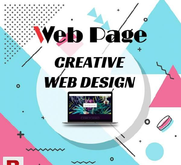 Professional website design and development