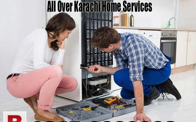 Refrigerator Fridge Microwave oven Repair all karachi