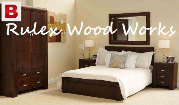 Rulex wood works all types of wood tadel kitchen furniture