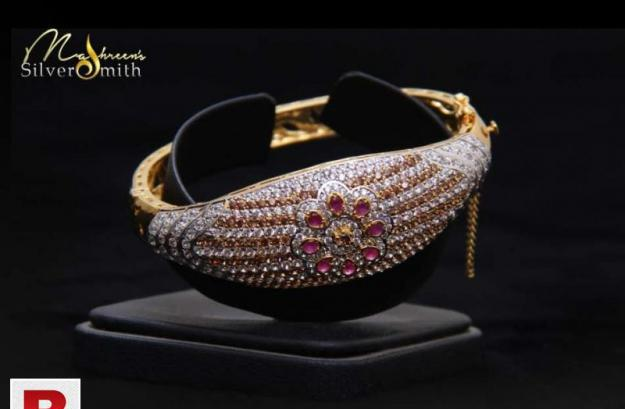 Silver bracelet with original 18k gold plated