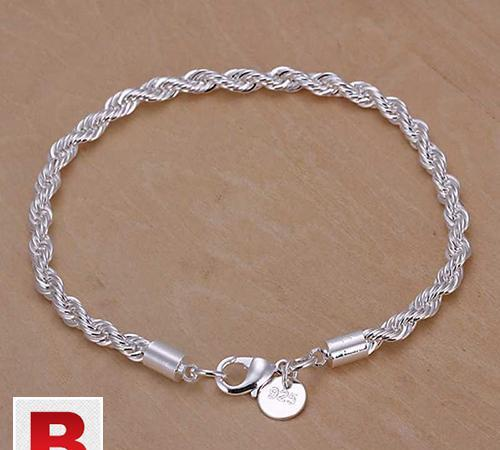 Silver plated top quality fashion jewelry bracelets