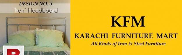 Single iron bed in just 8000 by karachi furniture mart