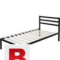 Single iron bed in reasonable price of 7500 large size