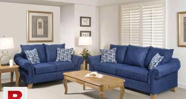 Sleek and stylish sofa set design.