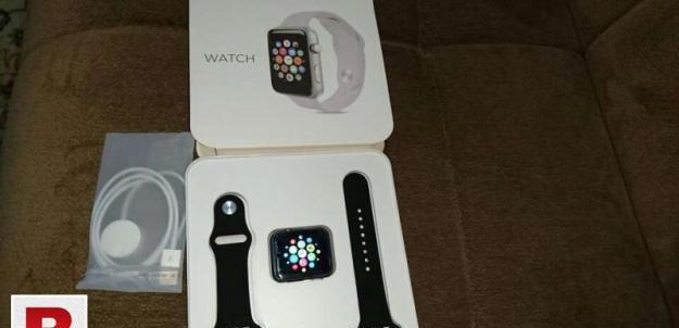 Smart watch iwo gold plated