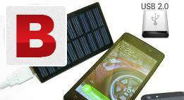 Solar charger for devices