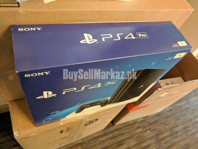 Sony playstation 4 pro - 1tb console bundle