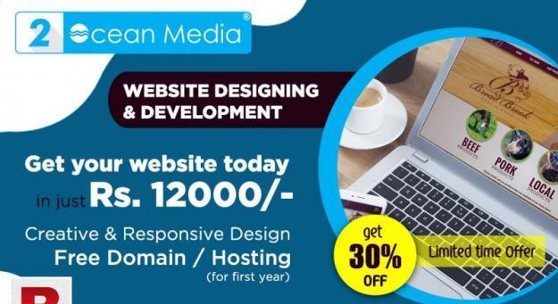 """We """"two ocean media"""" make all kind of dynamic websites,"""