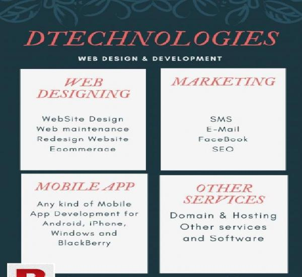 Web design & development (dtech)