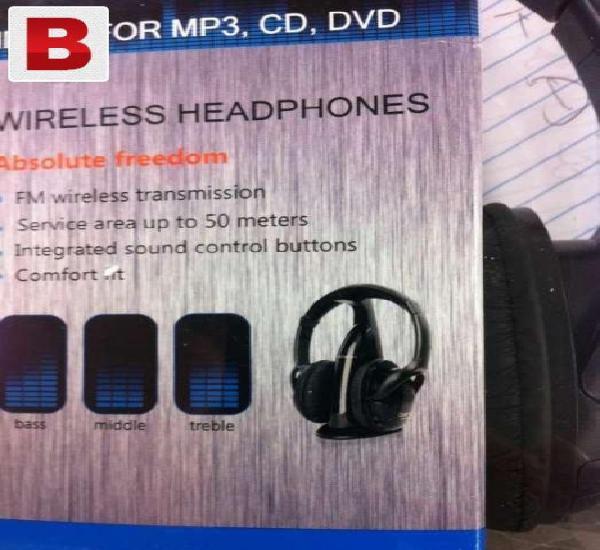 Wireless headphones absolute freedom