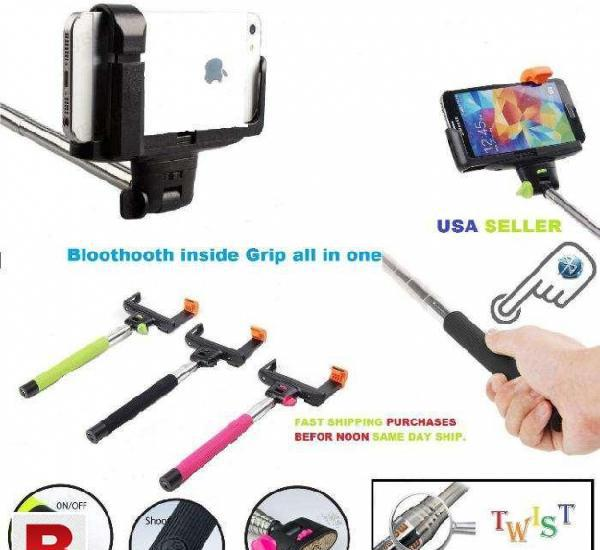 Wireless monopod selfie stick telescopic bluetooth remote