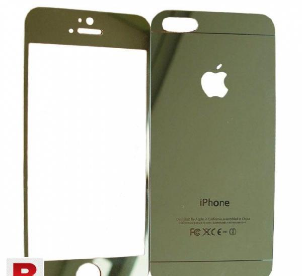 Iphone 5/5s mirror tempered glass