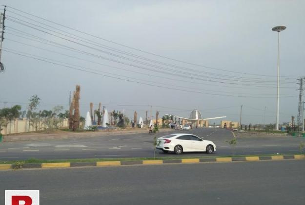 4 marla commercial plot in bahria orchard