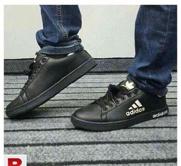 top quality low price sale fresh styles Adidas black flat shoes men in Karachi 【 SALES December ...