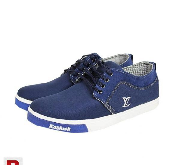 Ankle high zip sneakers for men