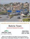 Bahria town rawalpindi 10 marla plot
