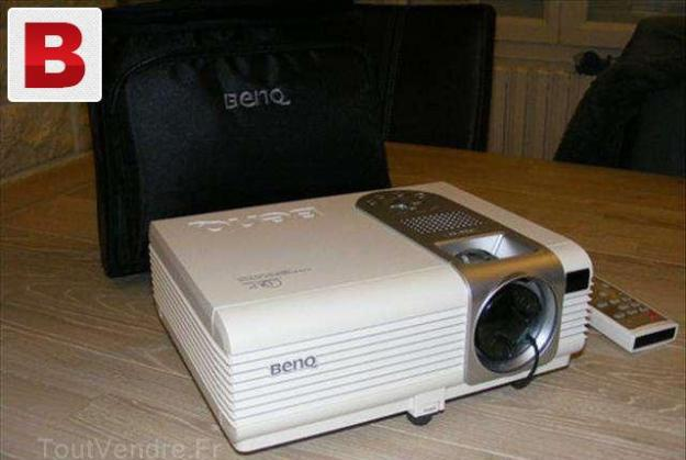 Benq ms504 dlp digital video projector svga 3000 ansi lumens