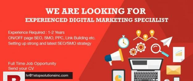 Digital marketing executive